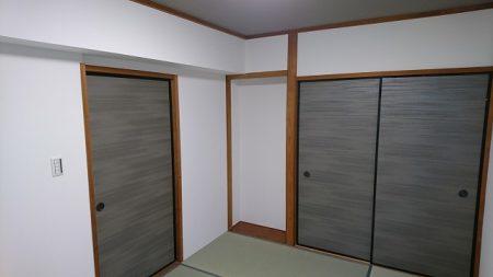 船橋市海神町南マンション①玄関・和室